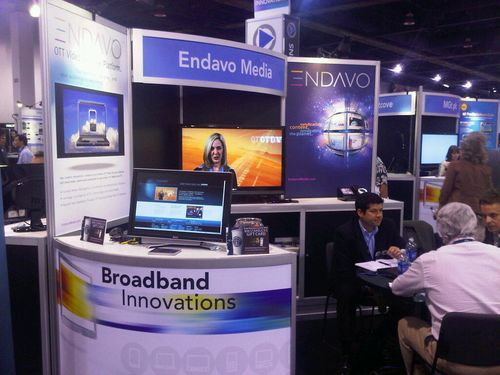 NAB 2010 Endavo Media Booth Picture