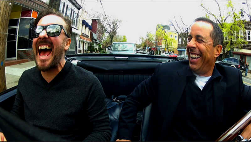 Crackle comedians in cars getting coffee