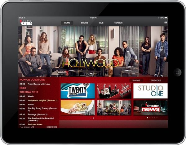 Dubai One Universal App is Launched! - TV Reinvented